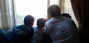 Bird-watching with the nephews